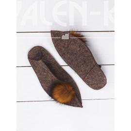 Тапочки остромысые